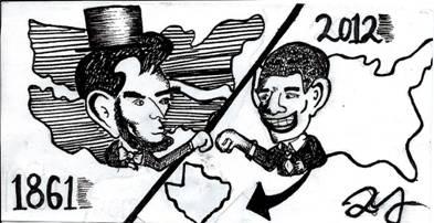 Blazing Trails of Satire: Texas Annexation