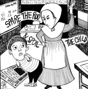Standalone Cartoon: Spare the Rod