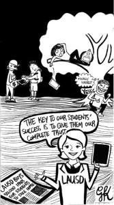Standalone Cartoons: LAUSD iPads