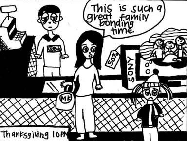 Blazing Trails of Satire: Black Friday Backfires?