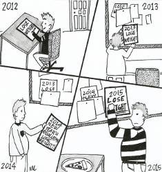 Seriously Satirical: New Year's Resolutions