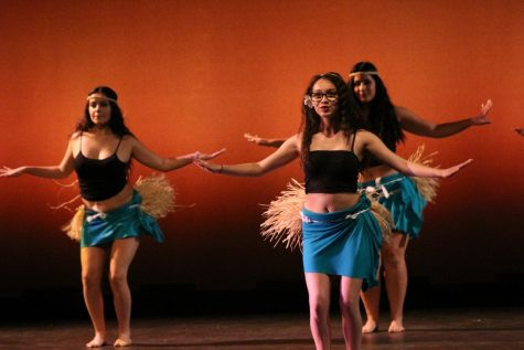 Dance expresses their art on canvas