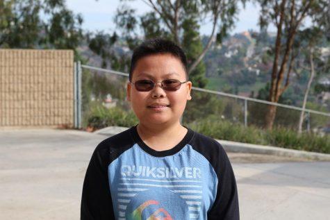 Freshman sees bright side in struggle