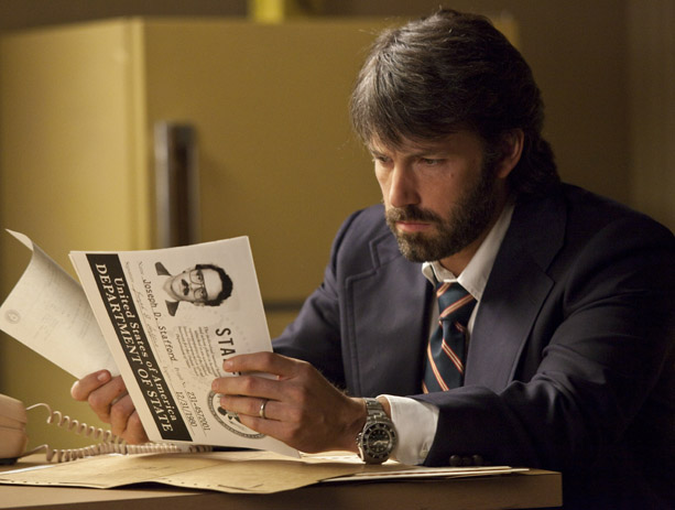 BEN AFFLECK stars in Argo as famed CIA operative, Tony Mendez.