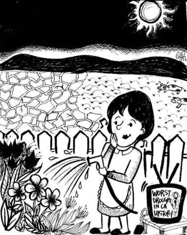 Standalone Cartoon: Drought…?