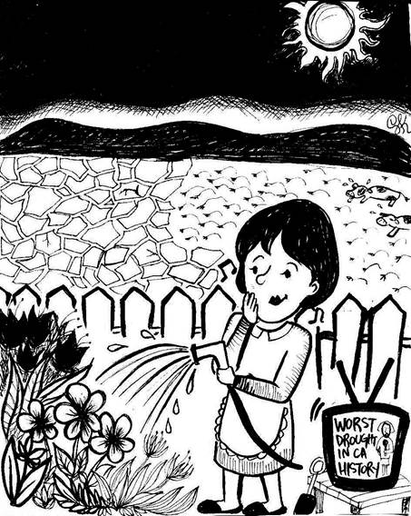 Standalone Cartoon: Drought...?