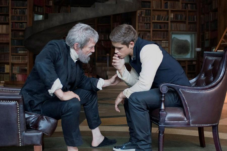 Still taken from 'The Giver'