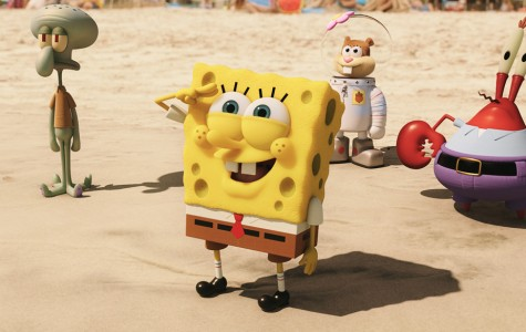 Now Showing: SpongeBob: Sponge Out of Water