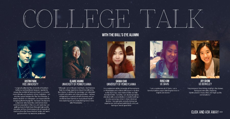 College Talk with Alumni