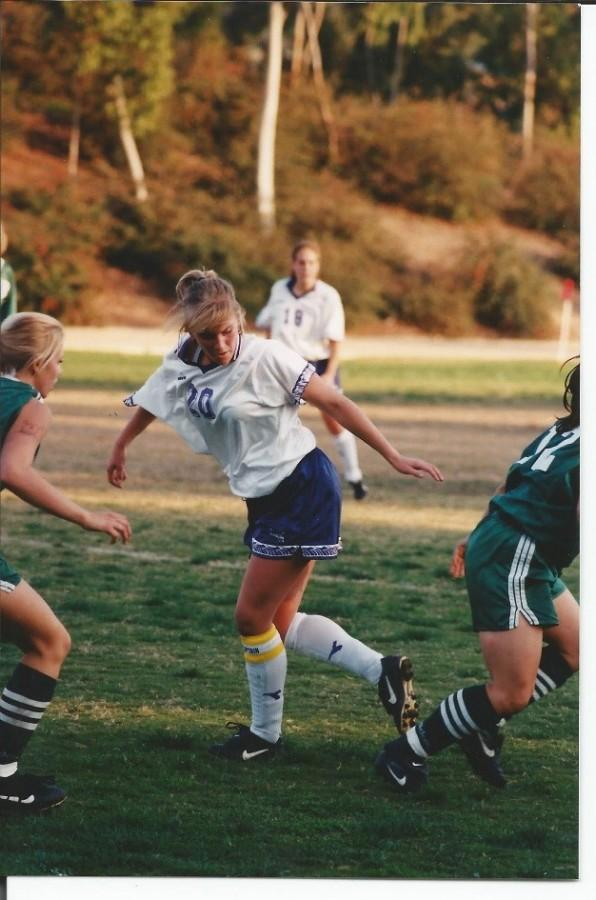 Sonja Burns played four years of soccer at CSULA.