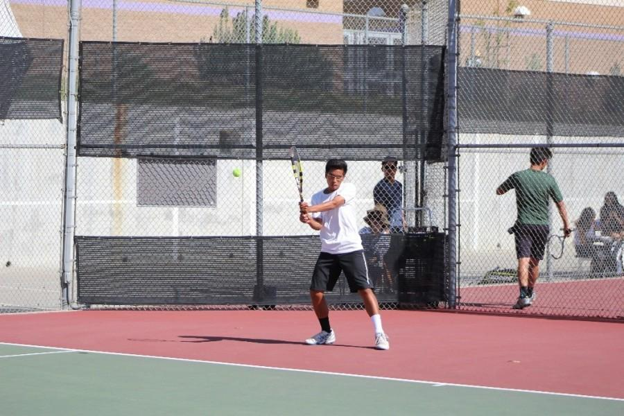 Sophomore Neil Tengbumroong will be competing in the Ojai Tournament.