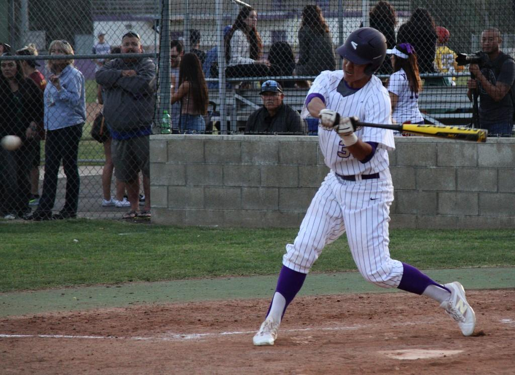 Senior Joseph Kim leads the Brahmas in hits, average, and RBIs.