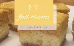 DIY: Fall treats