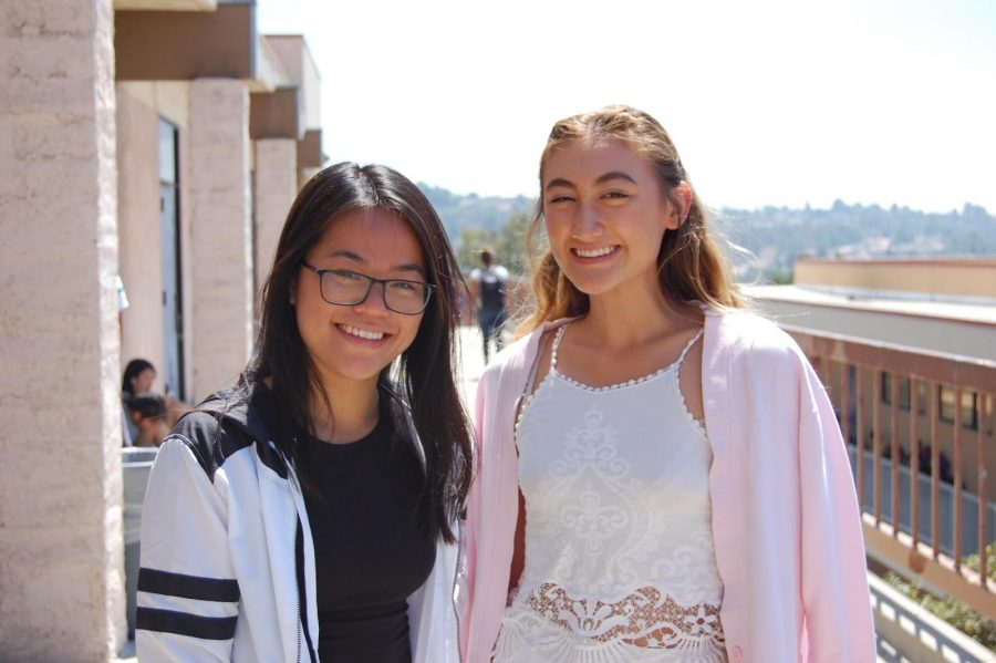 Senior Samantha Lim and junior Dora Varner both sell their old clothes Instagram on their closet accounts: @samecloset and @dorscloset, respectively.