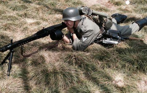 Reenacting war history