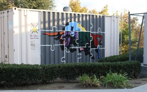 Painting across campus