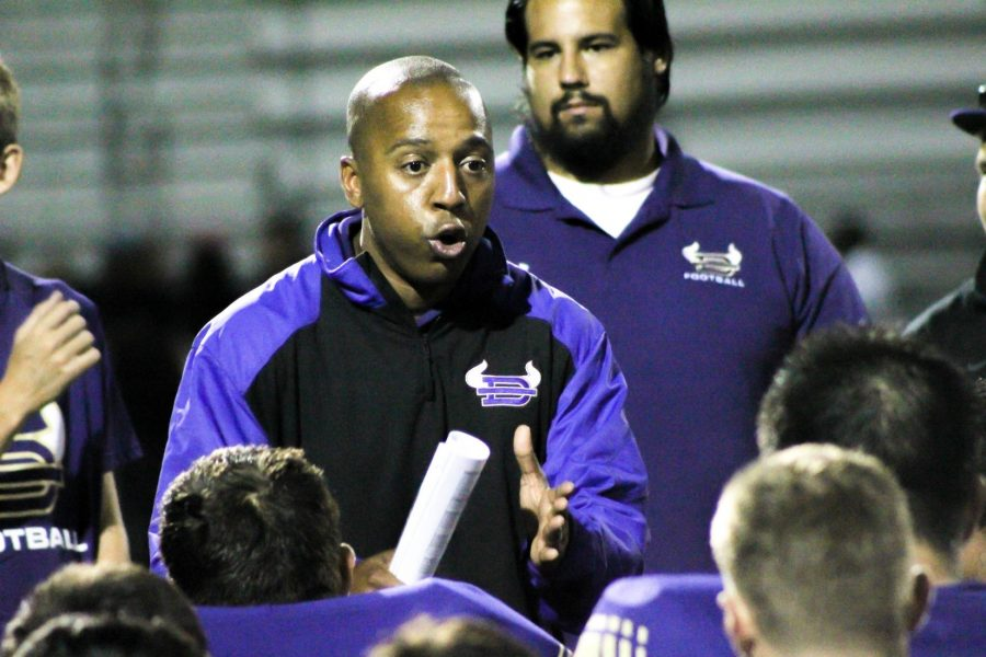 P.E. teacher Marcus Hughes announced his departure as football coach on Jan. 6.