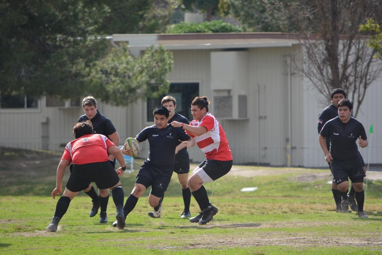 Sophomore Kurt Sakata found his interest in the sport over two years ago when he first saw a rugby match on TV.