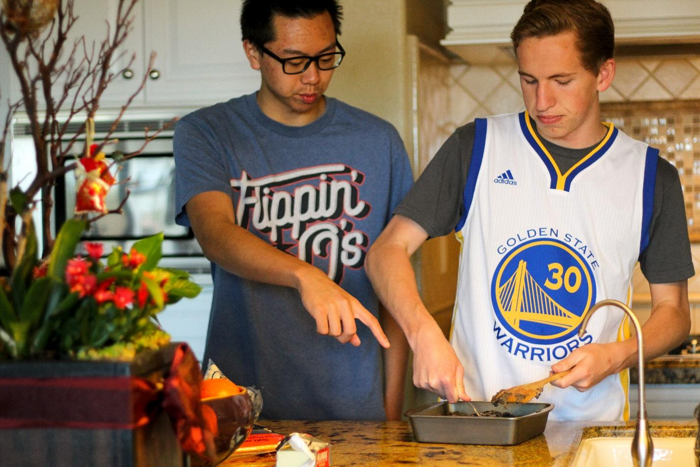 DBHS senior Jeffrey Liao and junior Logan Knight enjoy cooking and have even won a competition hosted in the Inland Empire area.