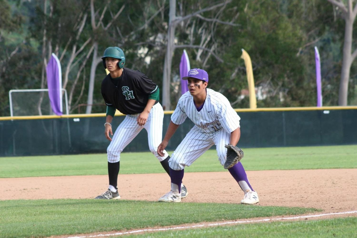 Junior Jairemy Pulido takes a lead in the South Hills game.