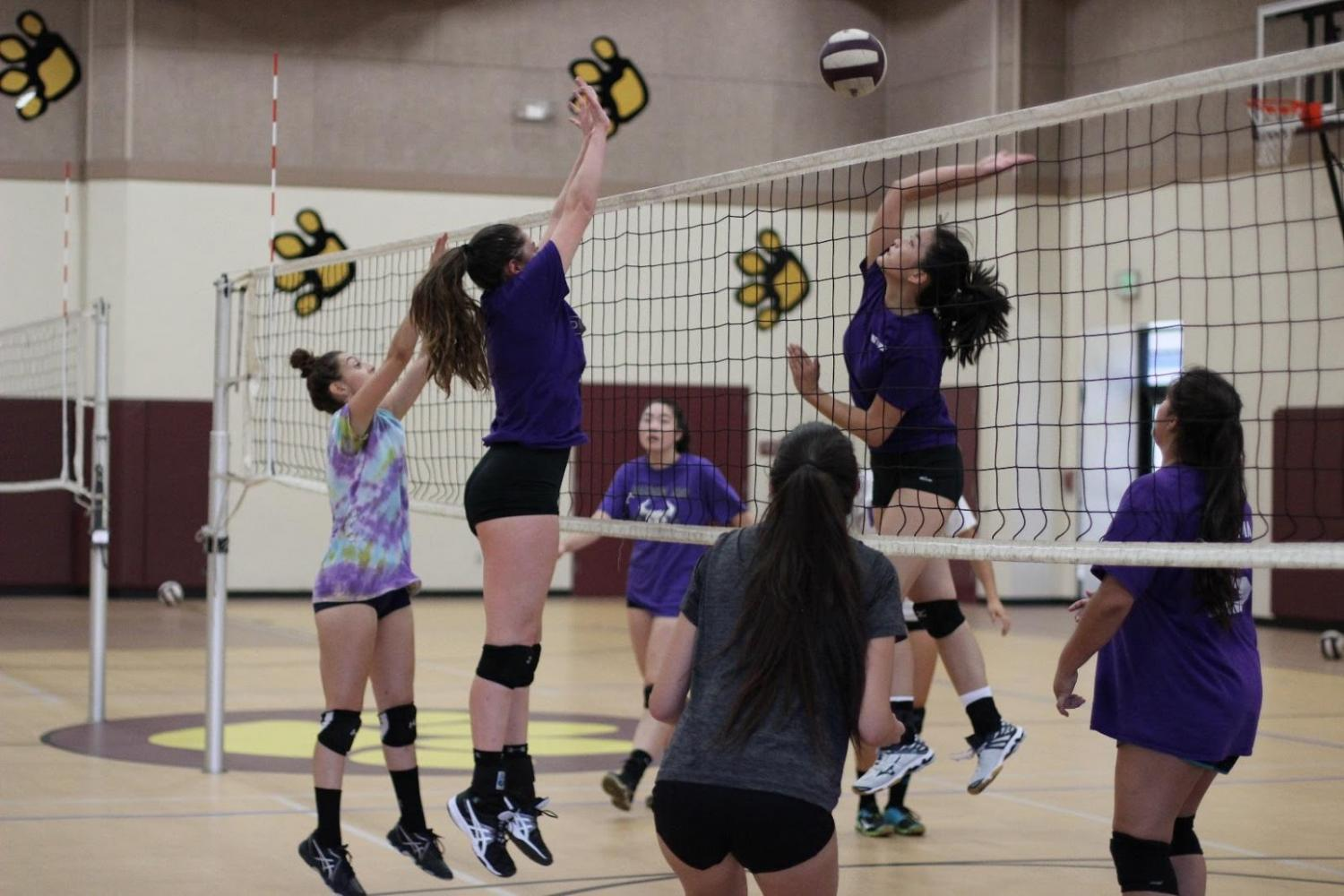 The Lady Brahmas have been practicing at Chaparral Middle School since July.