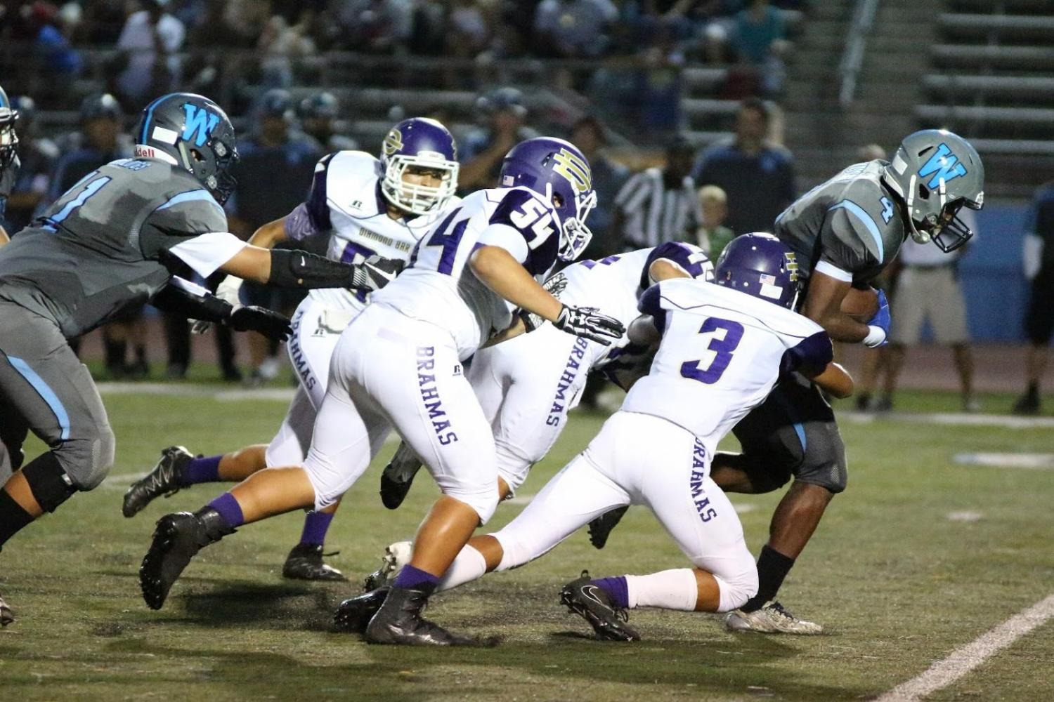 The Brahmas' six-year reign as the winner of the Branding Iron ended on Sept. 1 in a 21-15 loss against Walnut.