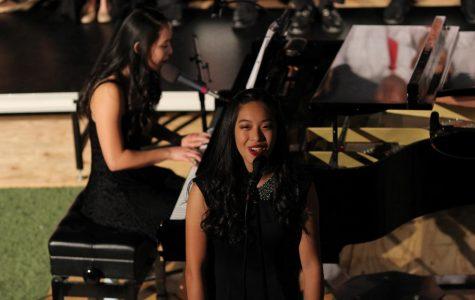 Singing last goodbye to choir director