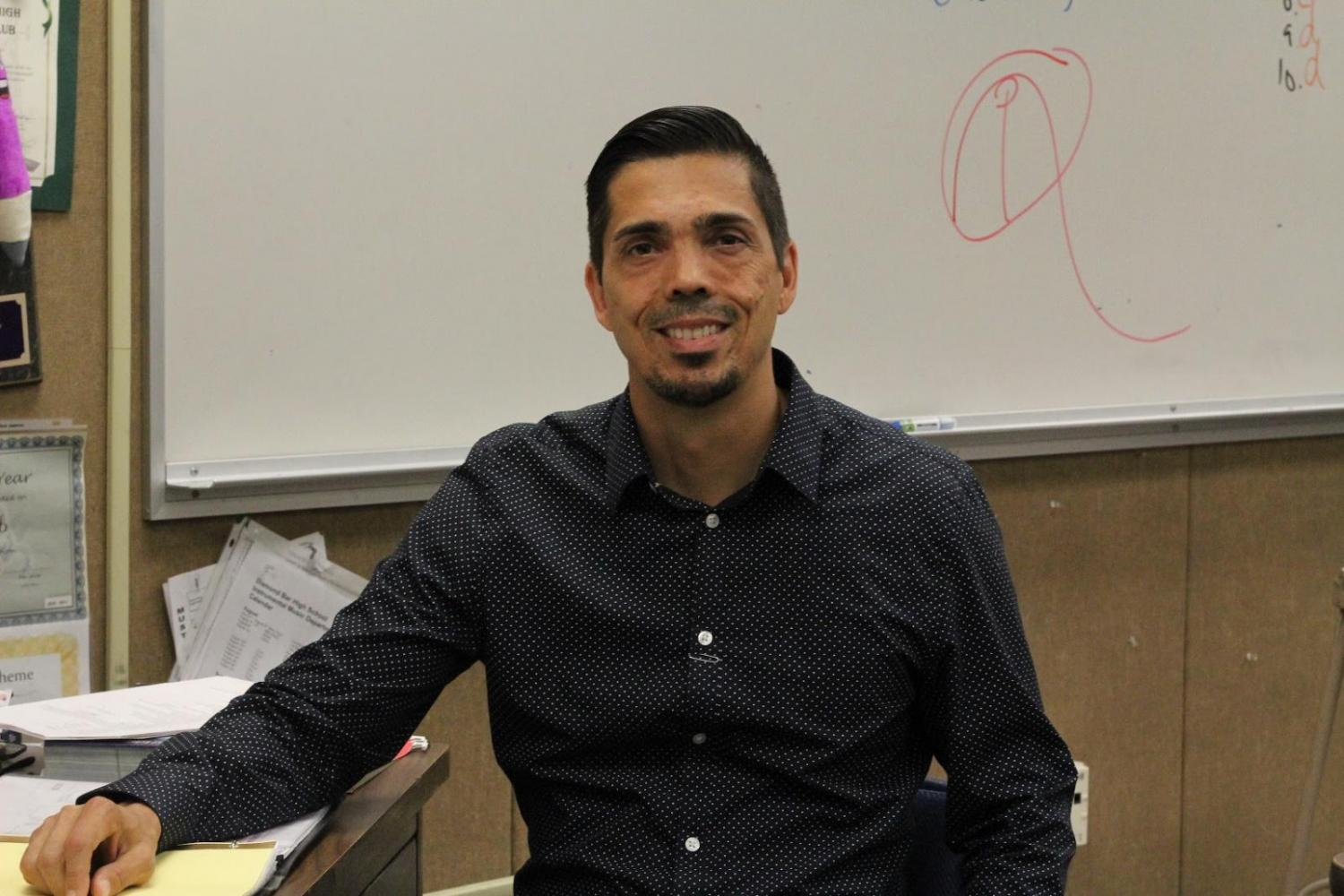 Science teacher Christopher Holmes has received a new position at Temple City High School.