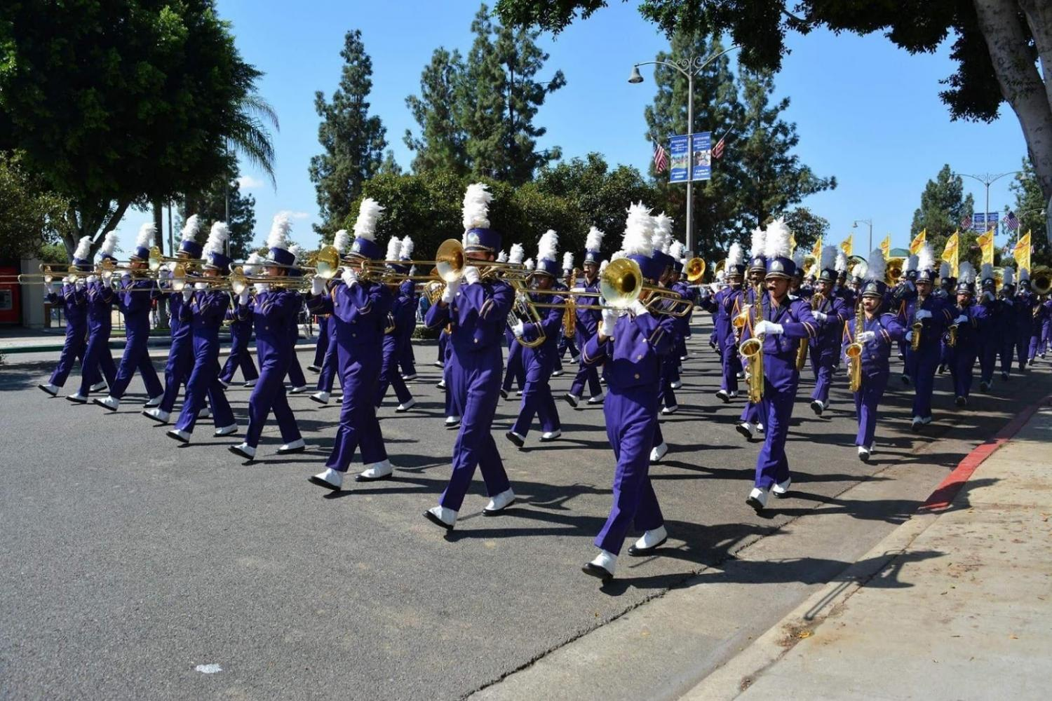 The DBHS Thundering Herd marched in the Los Angeles County Fair competition and took home a first place prize.