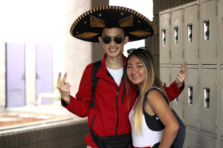 Derek+Lai+and+Lori+Kim+as+life+guards.