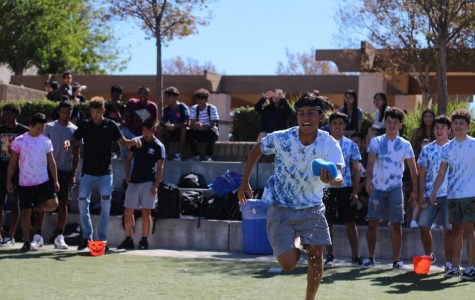 Blue team swamps competition