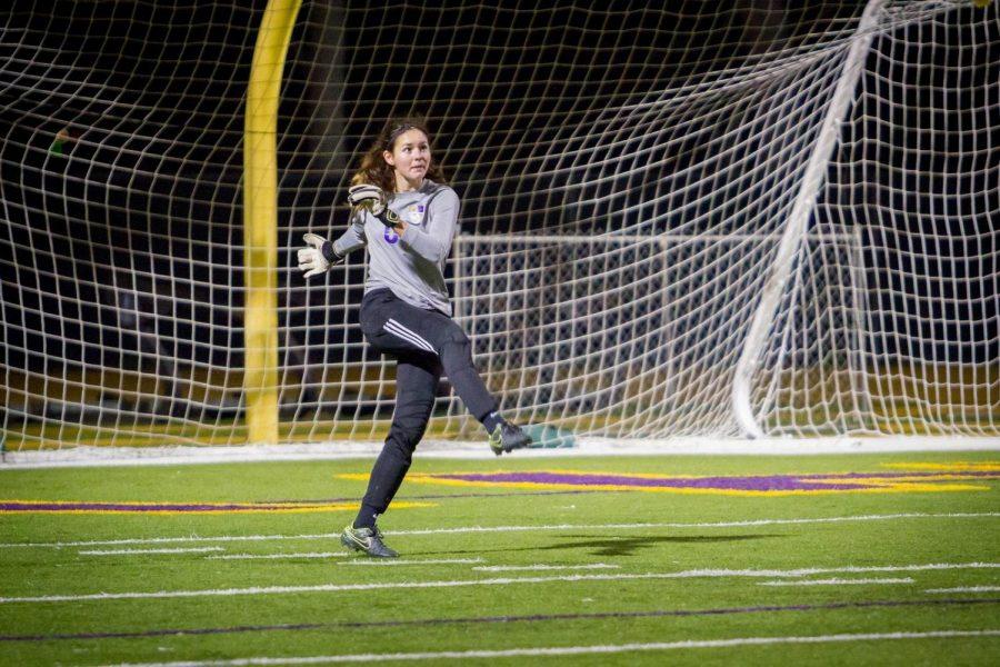 Senior Samantha Blazek will continue playing soccer at the collegiate level for York University in Nebraska.
