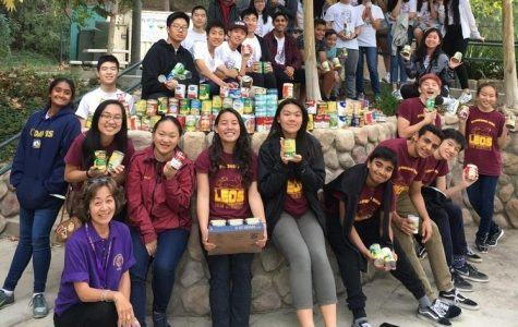 Leo Club (left) and Key Club have members and attends events across Southern California.