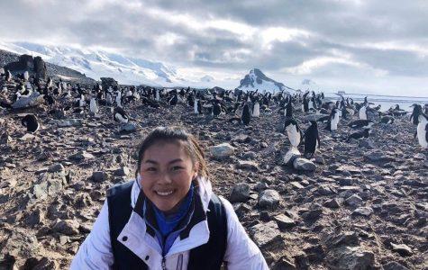 Senior takes plunge into the Antarctic