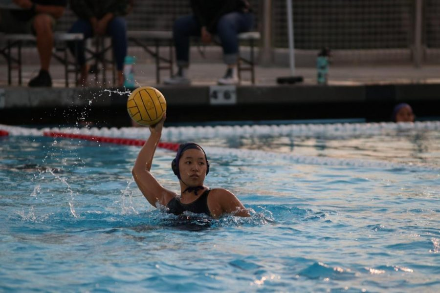 Senior Phoebe Tsui looks to score in a 13-3 loss against Claremont.