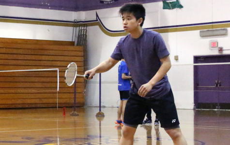 Senior Ambrose So was ranked the sixth top junior badminton player in the U.S.