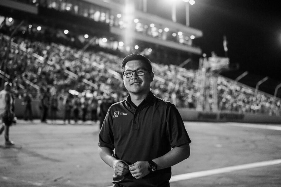 Alumnus Jim Liaw brought drift racing to the United States for the first time.