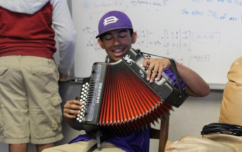 Brahma makes music on his own accord