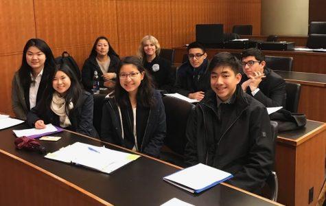 Mock trial witnesses success