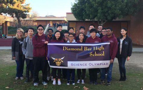 Improved Science Olympiad team built on chemistry