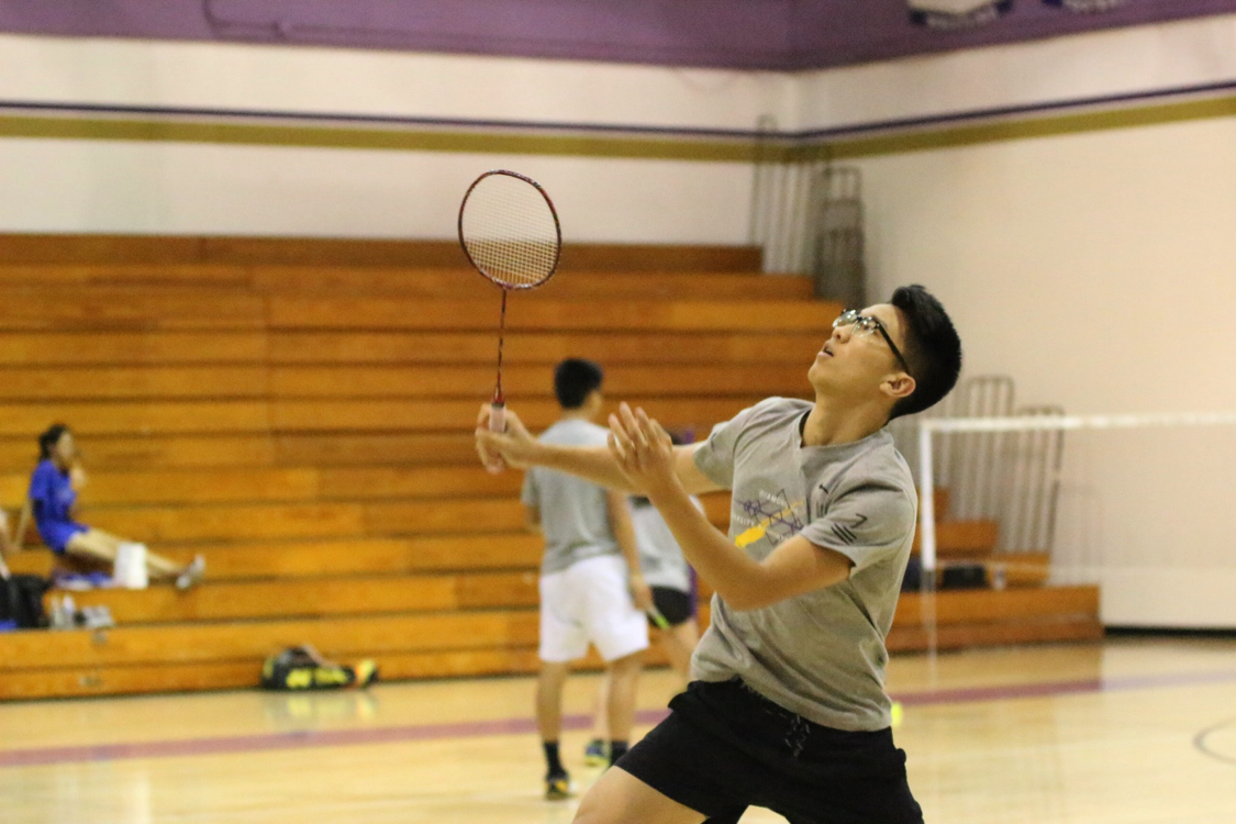 Senior Joshua Lee competed in the team's first CIF match against San Marino