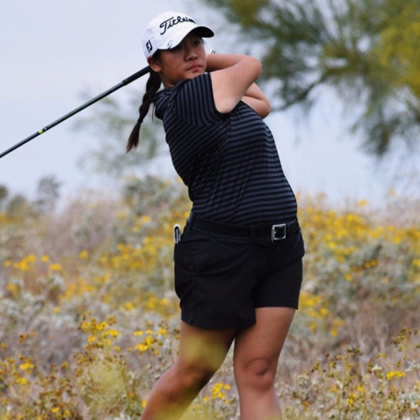 Vonsaga made her fourth appearance in the U.S. Women's Amateur.