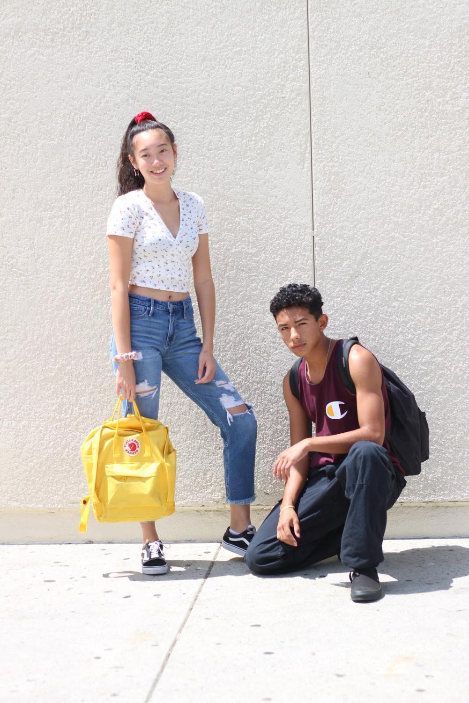 Models: Jennifer Nie and Goodson Ricker