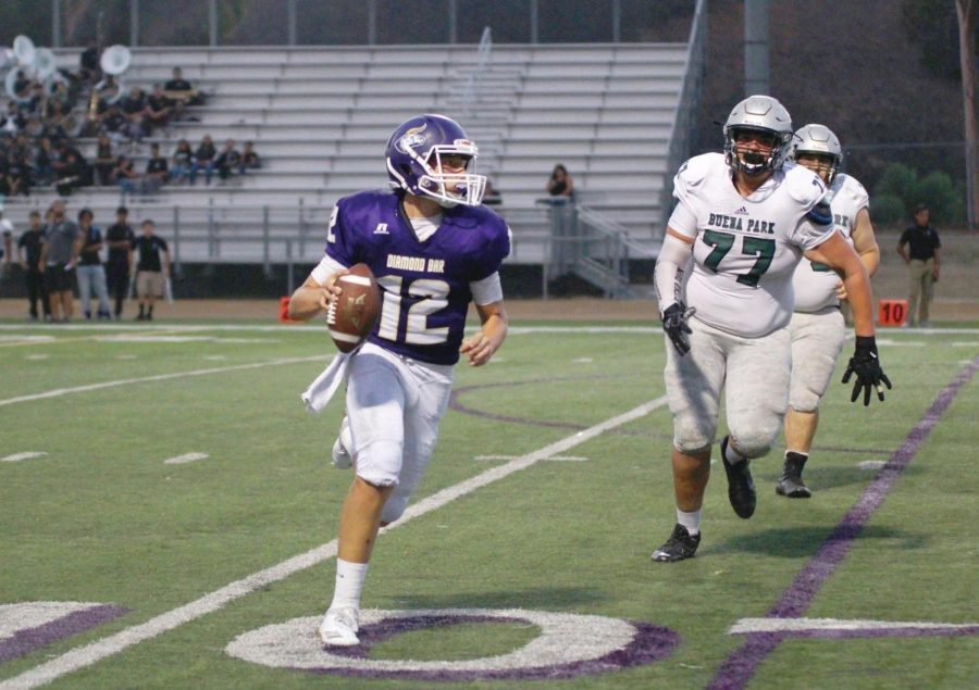 Dylan Karanickolas had five passing touchdowns in their first win in two years.