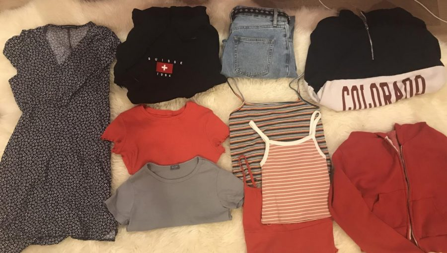 These ten Brandy Melville items were all $5 to $15 at the warehouse sale