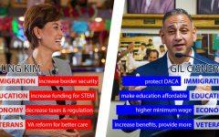 Cisneros, Kim vie for local congressional seat in D.C.