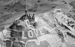 Seen through an aerial lens