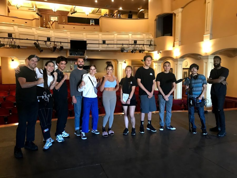 The Brahma Cinematics Club poses at the Covina Performing Arts center