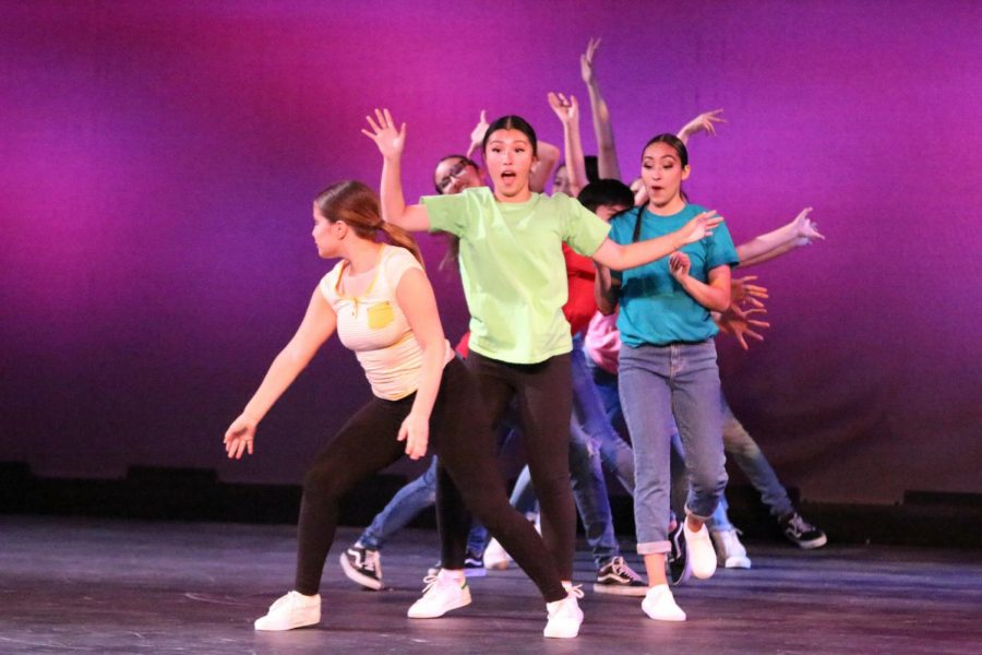 Fall dance concert highlights life