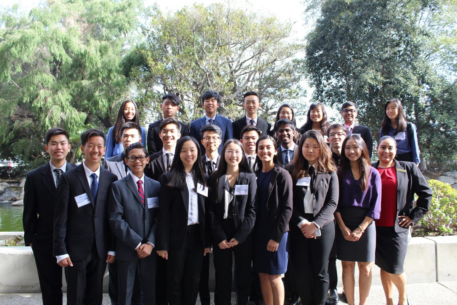 FBLA students attended the Southern California Leadership Development Institute last month to educate new members.